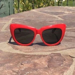 Sonix Sunglasses - Red and Brown Tortoise